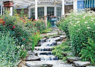 waterfall installer